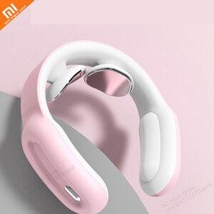 Image 1 - Xiaomi Multifunzionale di terapia fisica vertebra cervicale a distanza intelligente di controllo di spalla e il collo massaggiatore