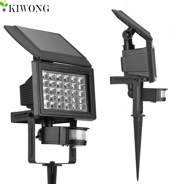 30 Led Solar Motion Sensor Lights For Garden Decoration Lowes Outdoor Waterproof Wall Lamp