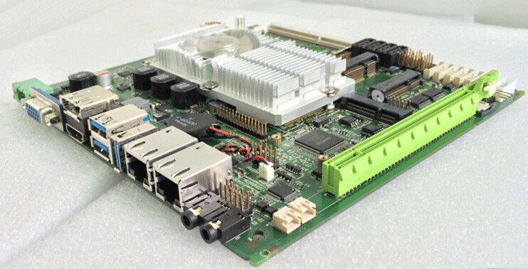 micro itx Mini 10v Motherboard Fully Tested (PCM5-QM77) цена