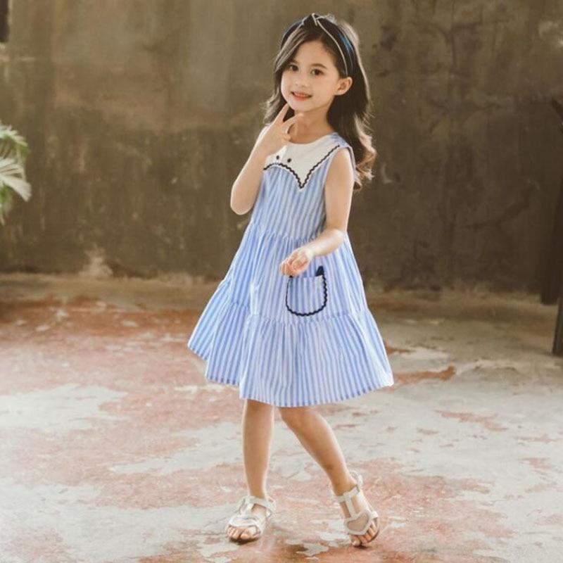 Baby Girl Dress 2019 Summer New Korean Cotton Fashion Girl -1186