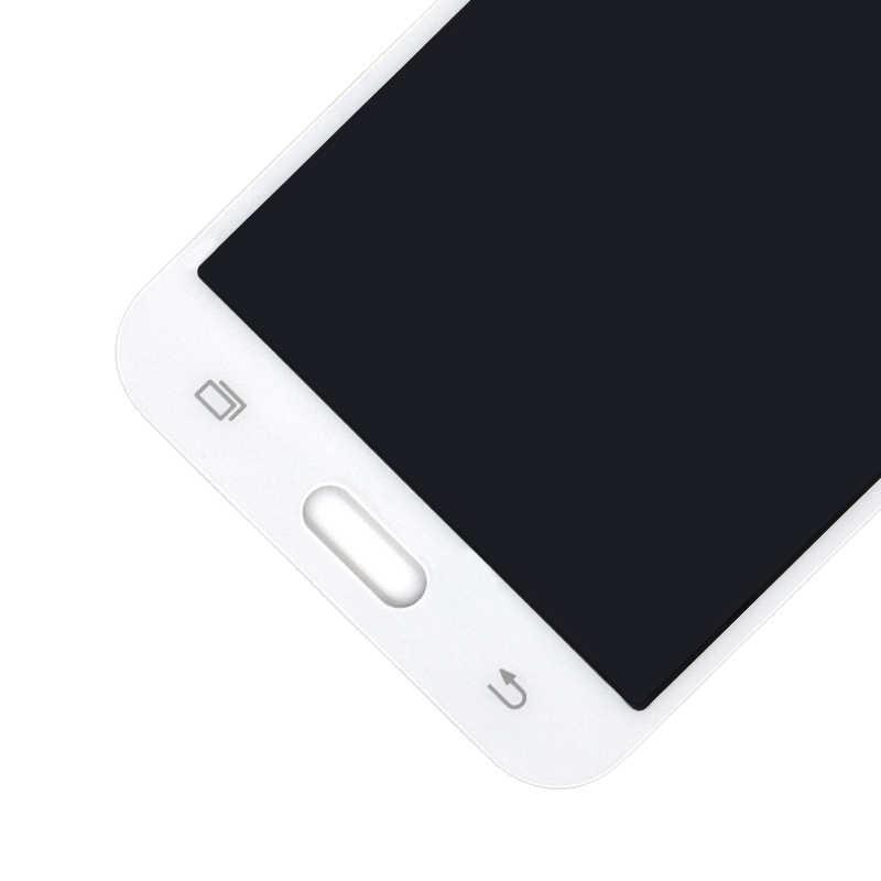 لسامسونج غالاكسي J5 2015 J500 J500F J500FN J500M J500H شاشة الكريستال السائل + مجموعة المحولات الرقمية لشاشة تعمل بلمس