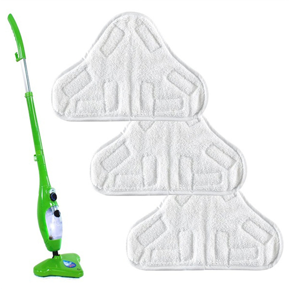 Reusable Cloth Washable Microfiber Replacement Pads Fit H2O X5 Mop Cleaning Tool(China)