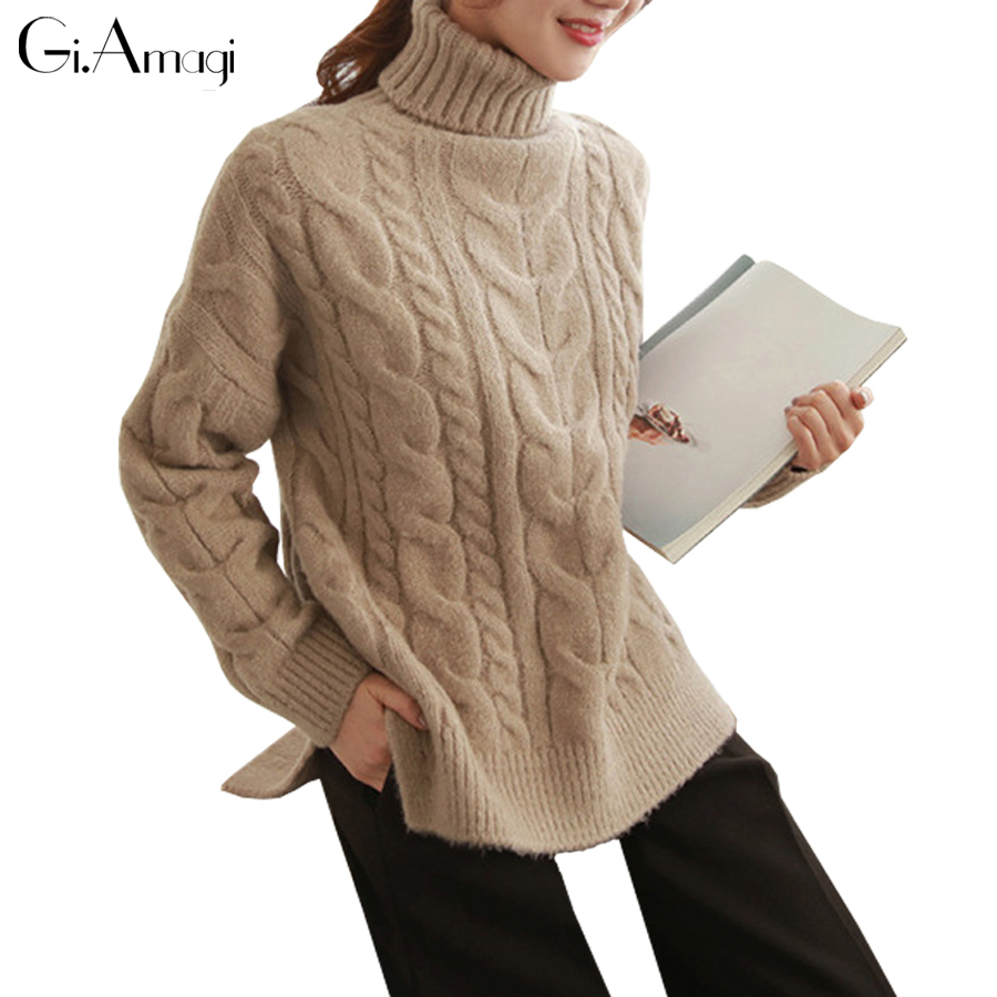 Compare Prices on Cable Turtleneck Sweater Womens- Online Shopping ...
