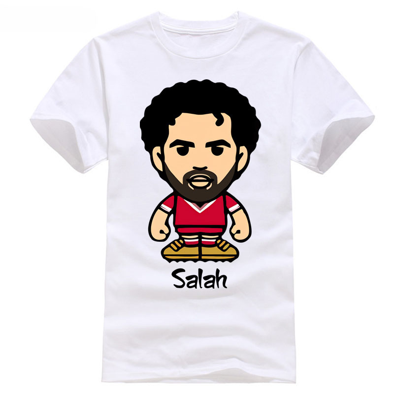 liverpool new 2018 footballer t shirt fshion tops golden man salah 11 champions league europe games