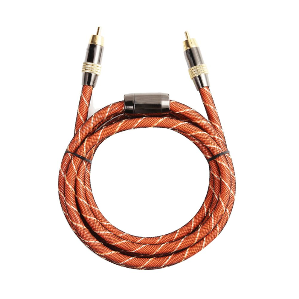 Free shipping High quality Hifi Digital Coaxial Audio Video RCA Coax Cable Cord Gold 1m/1.5m/2m/3m/5m/8m/10m sealmark фигура мал лягушка нежные чувства