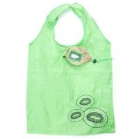 2017 Cute Kiwifruit Shape Folding Bag Eco Friendly Ladies Gift Foldable Reusable Tote Bag Portable Travel