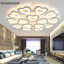купить Led Chandelier Modern Led Lustres Ceiling Led Lighting For Living room Bedroom Dining room Chandeliers Lampara de tech по цене 3022.09 рублей