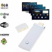 2.4กรัมMiracast Wifi D Ongleแสดงทีวีรับสัญญาณ1080จุดHDMIไร้สายออกอากาศDLNA HDTV