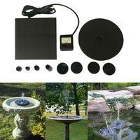 Floating Solar Powered Pond Garden Water Pump Fountain Kit Bird Bath Fish Tank shopify Drop shipping6.27/35%