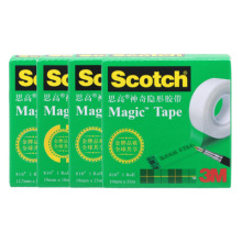 TUNACOCO 3M SCOTCH Magic Stealth Tape Matting Tape Writing Tape Adhesive Tape for School Office Jd1710053
