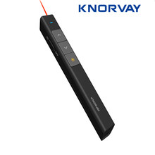 KNORVAY 2.4 GHz אלחוטי מגיש מרחוק Powerpoint מגיש מצגת Clicker PPT מצביע לייזר עט עם USB תקע(China)
