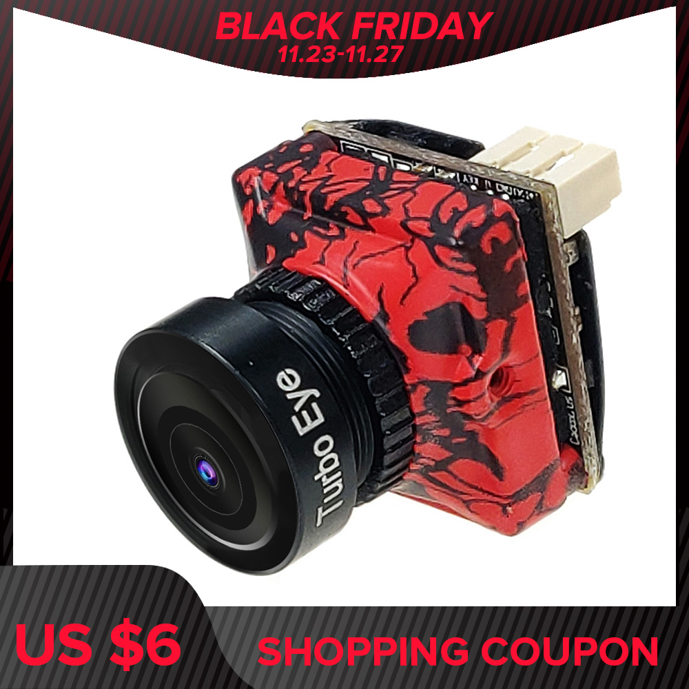 FPV Camera CADDX Turbo Unique Pattern Design Micro SDR2 PLUS 1200TVL Low Latency Small CAM For