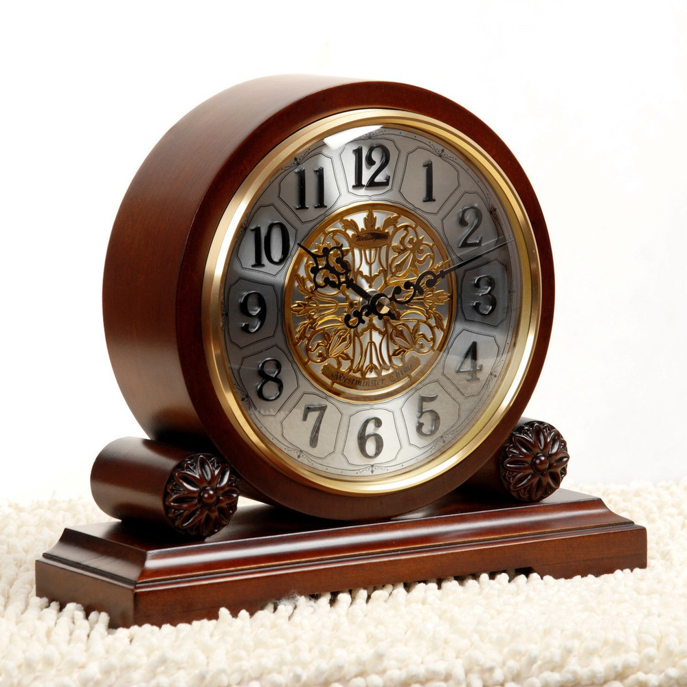 Wellington Chime Clock Living Room European Style Table Clock Clock  Movement Seiko Quartz Home Decoration Ideas In Alarm Clocks From Home U0026  Garden On ...
