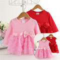 New Infant Baby Girl Tutu Dress Vestidos Kids Cute Lace Flower Summer Autumn Party Princess Dresses Baby Girl Christmas Clothes