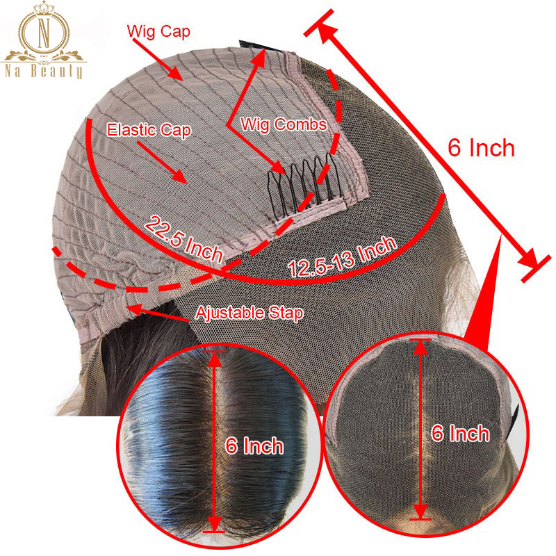Image 5 - 180 250 Density 13x6 Lace Curly Lace Front Human Hair Wigs For Women PrePlucked Brazilian Hair Wigs Nabeauty Hair Wig-in Human Hair Lace Wigs from Hair Extensions & Wigs