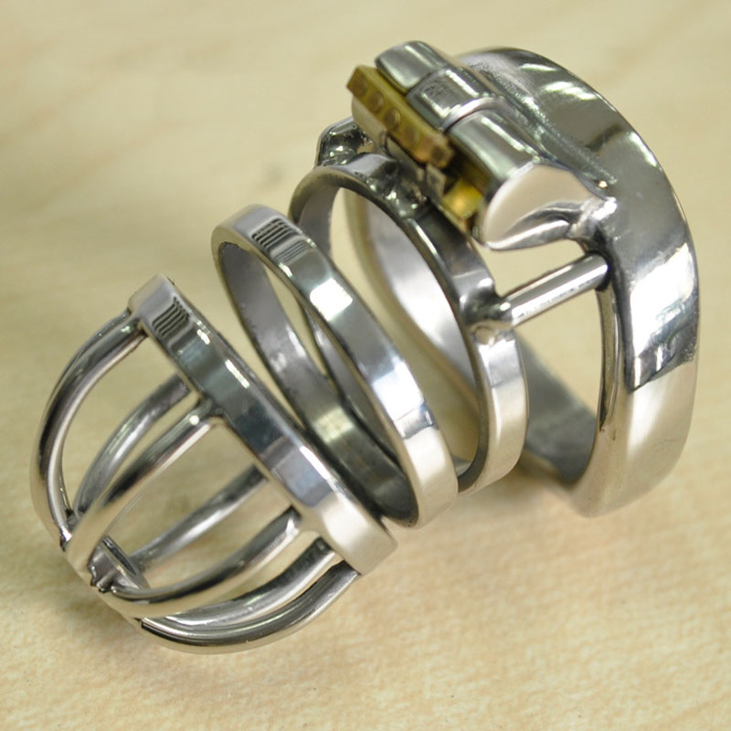 stainless steel arc cockring male chastity device penis cage cock ring cages bdsm men sex toys products for man cb6000s wearable penis sleeve extender reusable condoms sex shop cockring penis ring cock ring adult sex toys for men for couple