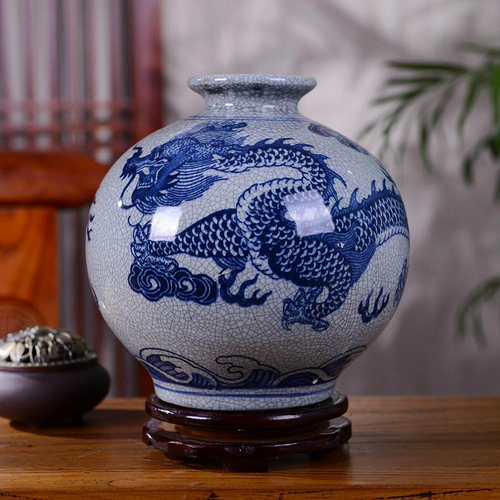 best top antique porcelain dragon vase blue ideas and get free