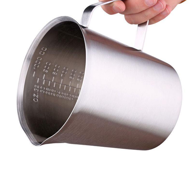 Rokene Stainless Steel Pitcher Milk Frothing Jug Production Of Cappuccino Milk Tea Coffee Milk Cup Milk Frothing Jug