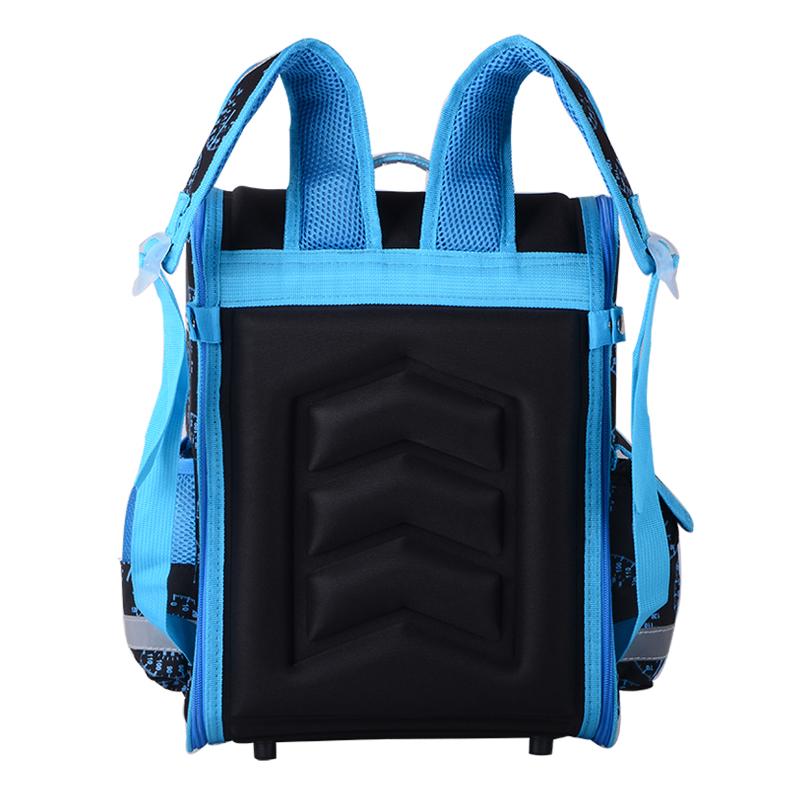 حقيبة مدرسية مطوية العظام للفتيان 4