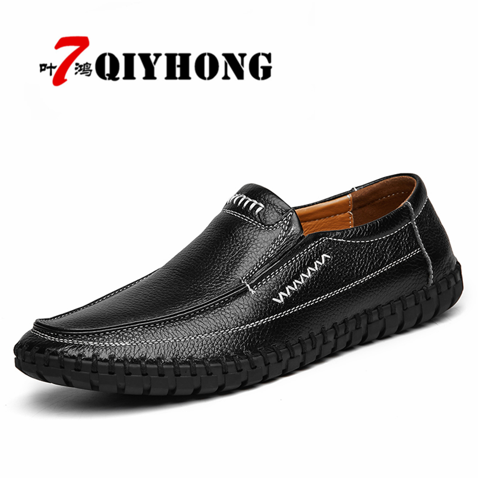 Chaussures Plus Cuir Qiyhong orange Zapatos Marque En La jaune été Hommes Occasionnels 1 Mesh Taille 46 Printemps Mode Hombre blanc 38 bleu De Nouvelle eEH9Y2IWD