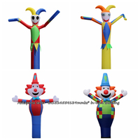 3D 13ft for 45CM Blowe Air Dancer Sky Dancer Inflatable Tube Clown Dance Puppet Wind Inflatable Advertising Bouncy Castle