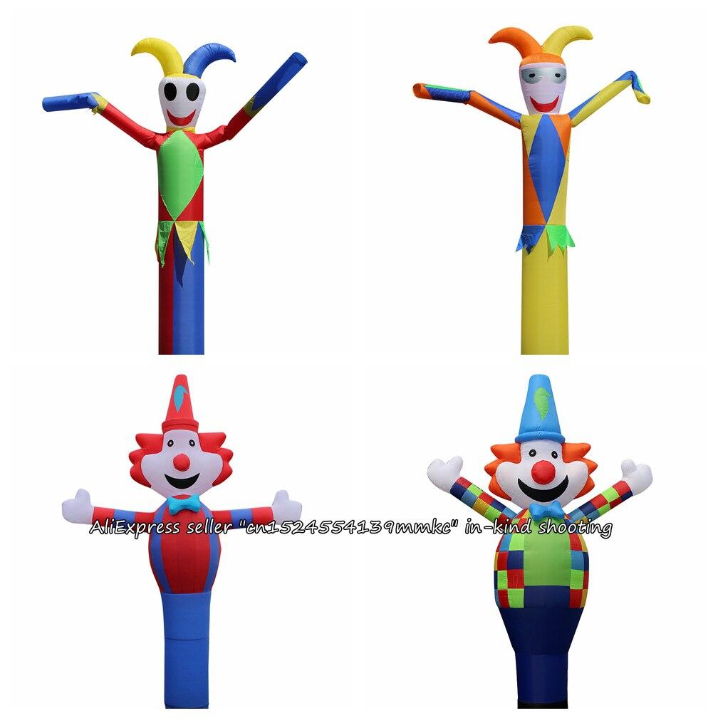 3D 13ft pour 45 cm Souffleur Air Danseur Ciel Danseur Gonflable Tube De Danse De Clown Marionnette Vent Publicité Gonflable Château gonflable