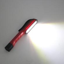 Многофункциональный светодиодный фонарь светильник COB ручка зажим светильник вспышка светильник Cob рабочий удобный фонарь светильник вспышка фонарь Лучшая цена