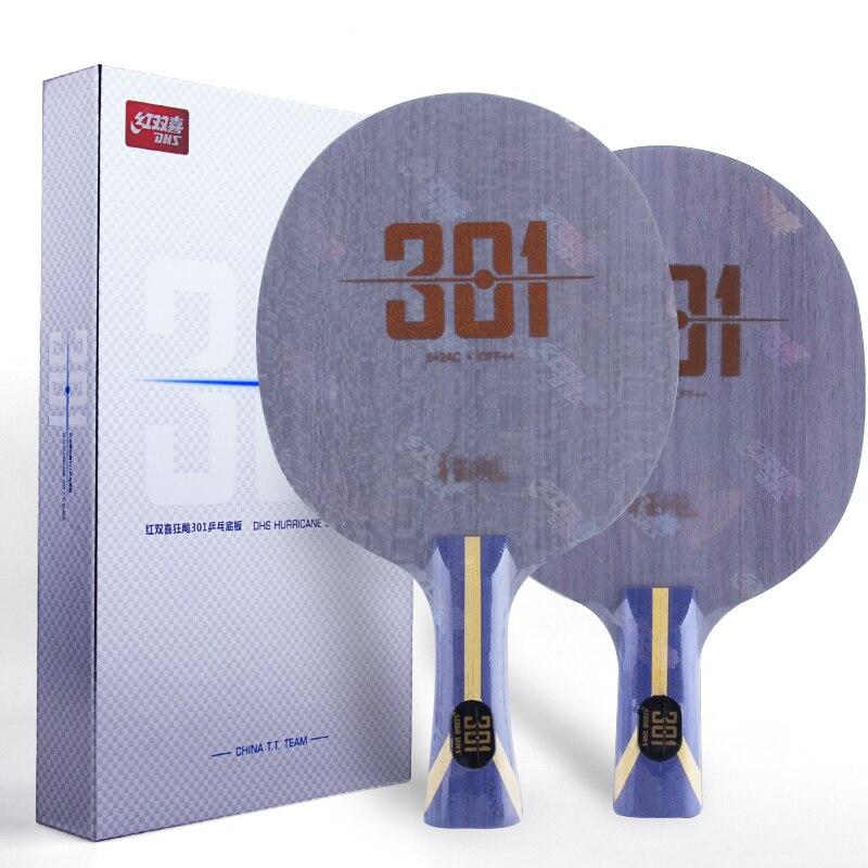 2017 Neueste Dhs Hurrikan 301 (h301) Tischtennis Klinge (wie N301) Arylate Carbon Alc Schläger Ping Pong Bat Schläger Dinge Bequem Machen FüR Kunden