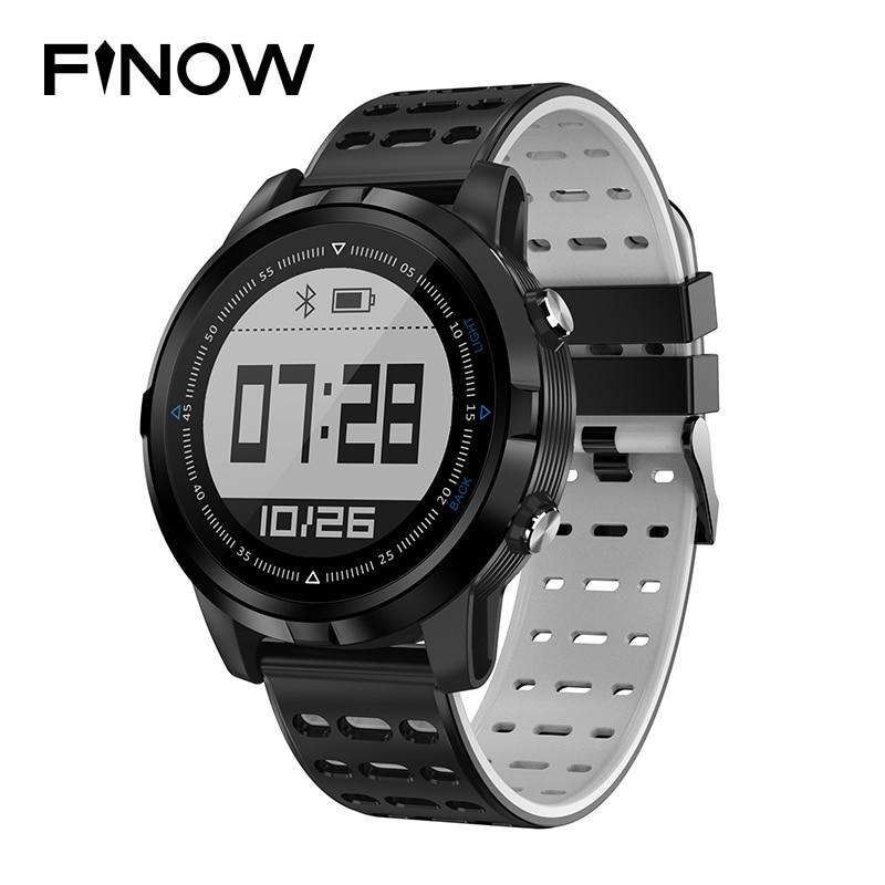 все цены на NEW FINOW N105 Smart Watch GPS Smartwatch Waterproof IP68 Heart Rate Monitor Men/Women Swimming Sport Fitness Tracker Wristwatch онлайн