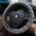 1PC Heated Plush steering wheel cover steering-wheel for Ford BMW audi toyota corolla camry vw ford hyundai chevrolet skoda kia