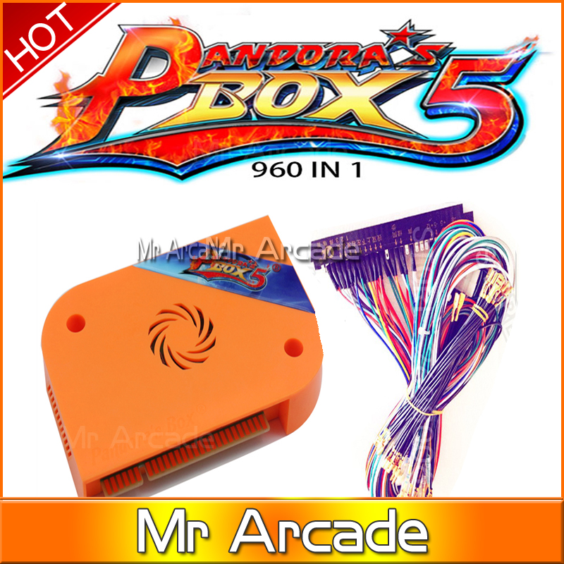 NEW arrive Pandora's Box 5 960 in 1 Jamma Arcade Version HDMI/VGA Output  Custom Buttons  Game Board For Arcade Machine twister family board game that ties you up in knots