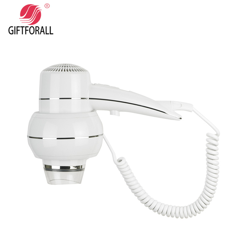 GIFTFORALL Hairdryer Professional Styling Powerful Wall Mounted Portable hot and cold windHotel Bathroom Home Hair Dryer D137 giftforall hair dryer hotel bathroom home professional hair salon powerful wall mounted portable mini hairdryer d139 d
