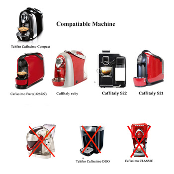 Caffitaly Compatible Machines