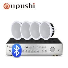 Bluetooth динамик домашний усилитель аудио 8ohm в потолочном громкоговорителе для системы домашнего кинотеатра с USB, sd-картой, FM