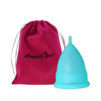 100% Medical Grade Silicone Aneercare Menstrual Cup Copa Menstrual Copa Menstrual De Silicona Medica Feminine Hygiene