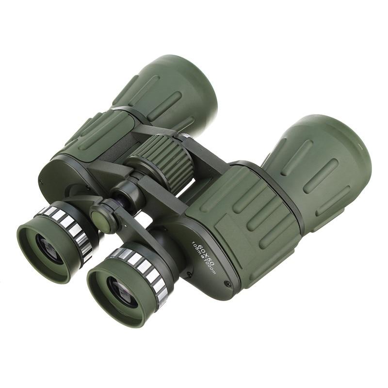Best Deal 60x50 Day/Night Outdoor Military Green Binoculars Camping Hiking Hunting Optics Astronomical Telescope Bird Watching