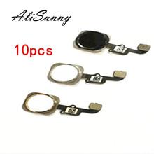 AliSunny 10pcs Home Button Flex Cable for iPhone 6 4 7 #8221 6G 6S Plus 5S Menu Sensor Replacement Parts cheap CN(Origin) Apple iPhones for 6