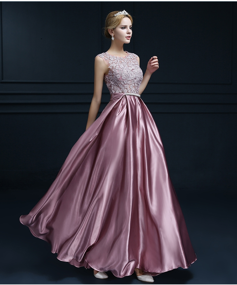 Wedding Formal Gowns: Fashion Banquet Evening Dress Long Section 2016 New Annual