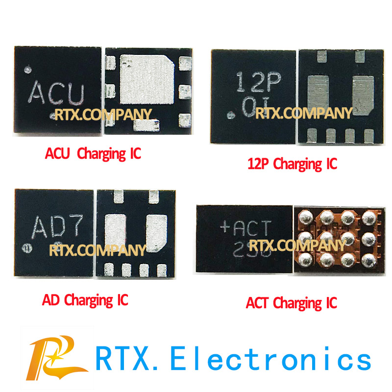 12P AD7 AC ACT Charging IC For Huawei P8 Lite Mate7 MT7 Honor 6 9 V8 4X 4C 8pin USB Charger Chip 745A 745B Light Control IC Chip