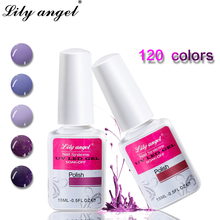 Lily angel Newest 15ml Nail Gel Polish Soak-off DIY Manicure Lacquer UV LED Varnish Long-lasting Art 1-30