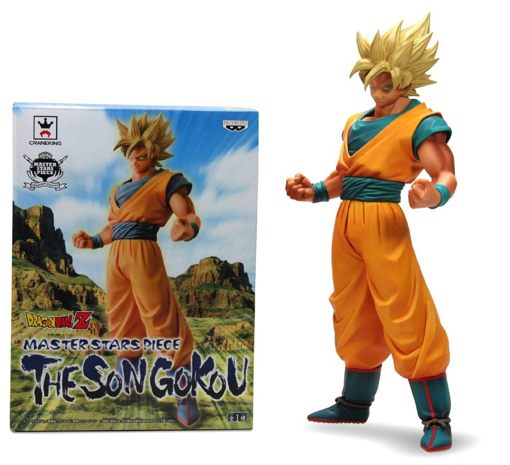 Figurine Dragon ball. Copie? Oui, je pense Classic-Anime-Comic-Akira-Toriyama-Dragon-Ball-Z-Super-Saiyan-Son-font-b-Goku-b-font