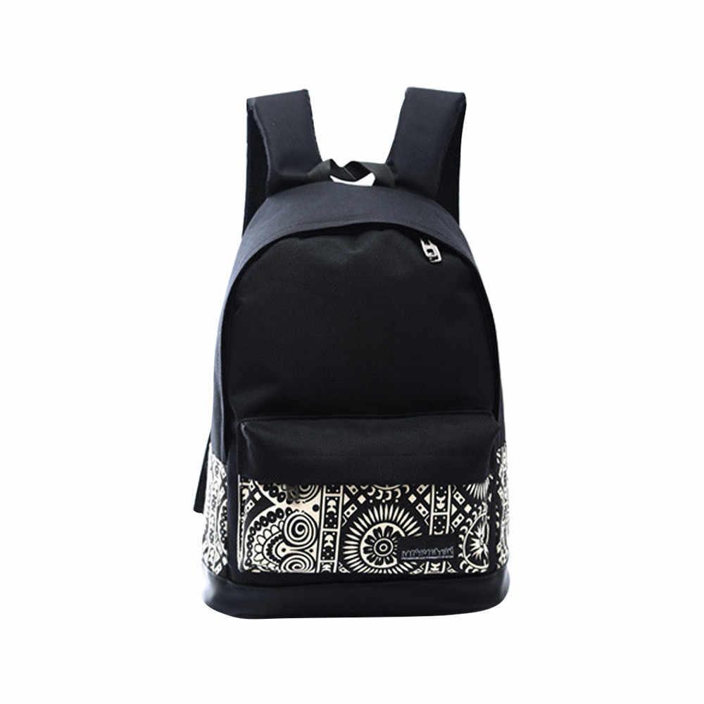 Модные рюкзаки Одежда для девочек и мальчиков холщовый рюкзак школьная книга сумки на плечо рюкзаки, сумки для путешествий для девочек-подростков # Zer