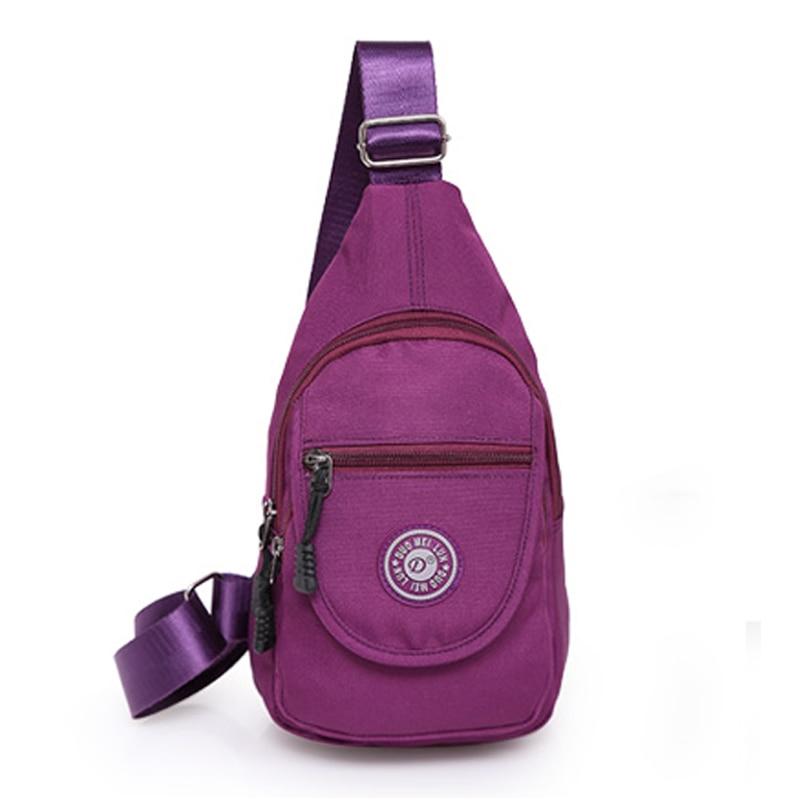 2018 New Women Messenger Bags Casual Women's Travel Bags Crossbody Chest Bag Pack Female Small Sling Shoulder Bag Tranvel Borse