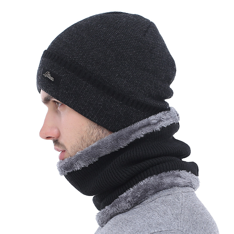 59772fb31 Details about AKIZON Brand Winter Hat Knitted Hats Men Women Scarf Caps  Mask Gorras Bonnet