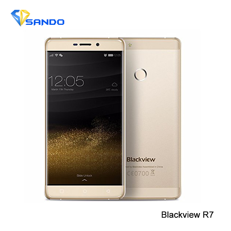 Original Blackview R7 5.5″ MT6755 Mobile Phone 4G Smartphone Android6.0 Octa Core 2.0GHz 4GB+32GB 13MP Dual SIM OTG CNC
