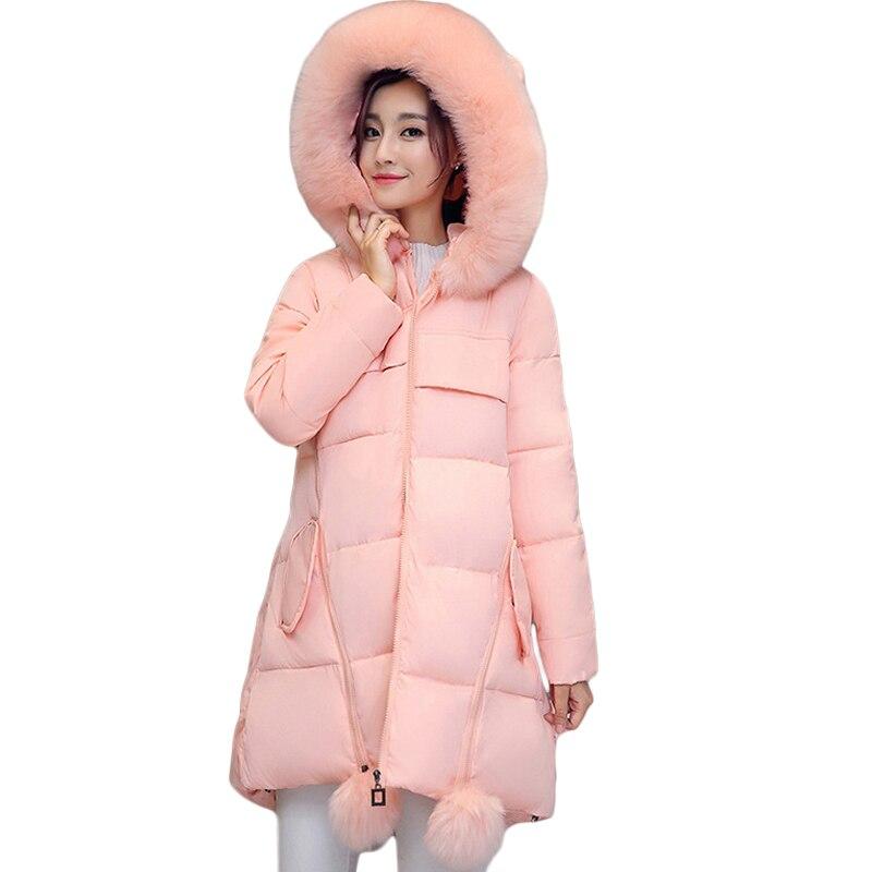 Plus Size 5XL 6XL Winter Jacket Women Coat   Parka   Hooded Warm Thicken Jacket Coat Long Sleeve Outerwear Winter Women's Coat CM940