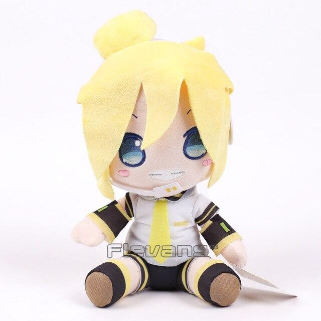 Vocaloid Hatsune Miku Kagamine Rin Ren Plush Macio Stuffed Dolls 28 cm