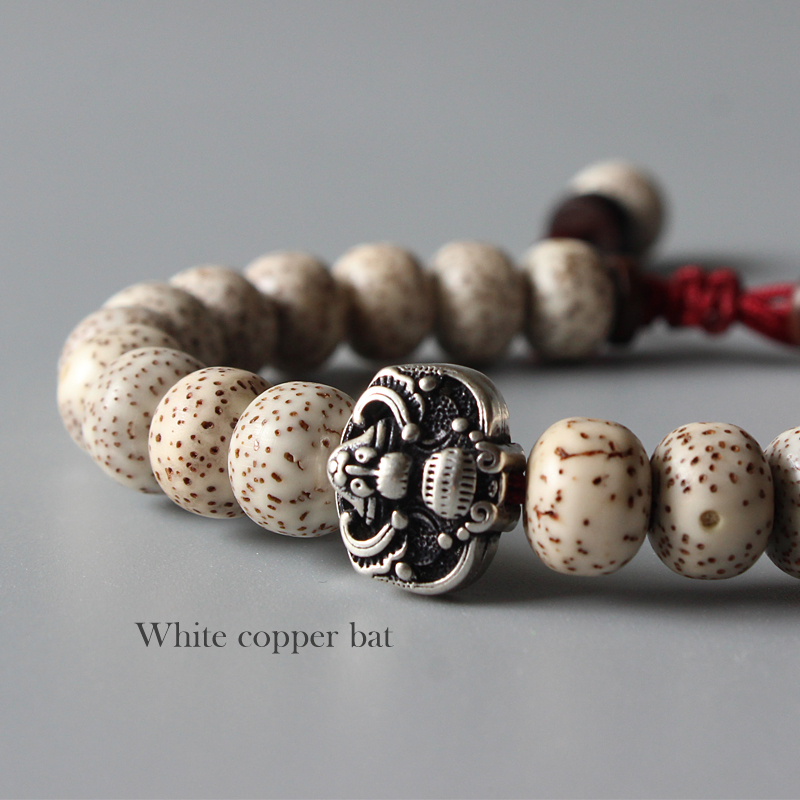 Tibetan Bodhi Seed Mala Bracelet 2