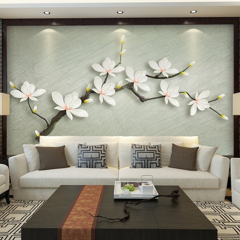 Custom Photo Wallpaper Chinese Style Romantic Flower 3D Mural Marriage Room Bedroom Living Room Non-woven Printed paper mural beibehang lovely abc print kid bedding room wallpapers ecofriendly fantasy non woven wall paper children mural wallpaper roll