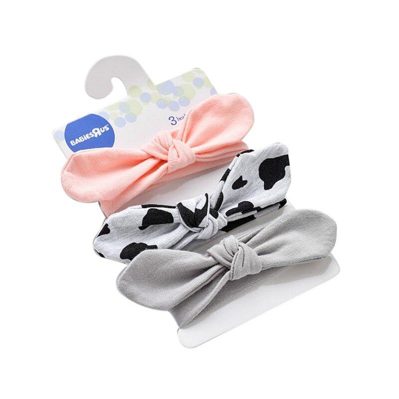 Baby Girls Hair Accessories Lovely Cute Kids Baby 7 Styles Hair Clip Cartoon Flower Cotton Headband Elasticity 2017 New